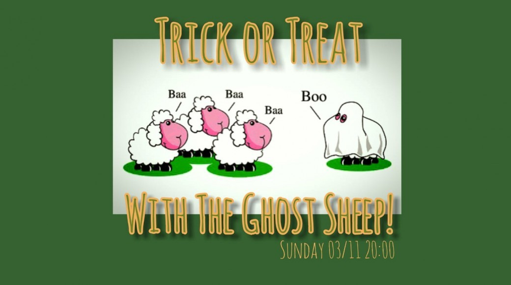 Trick or Treat with the Ghost Sheep