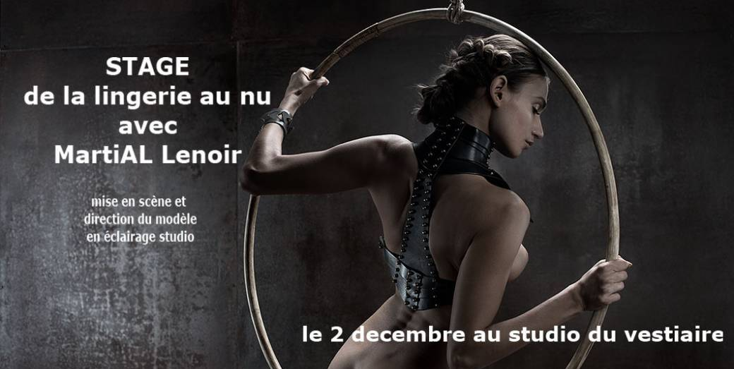 workshop lingerie et nu en studio