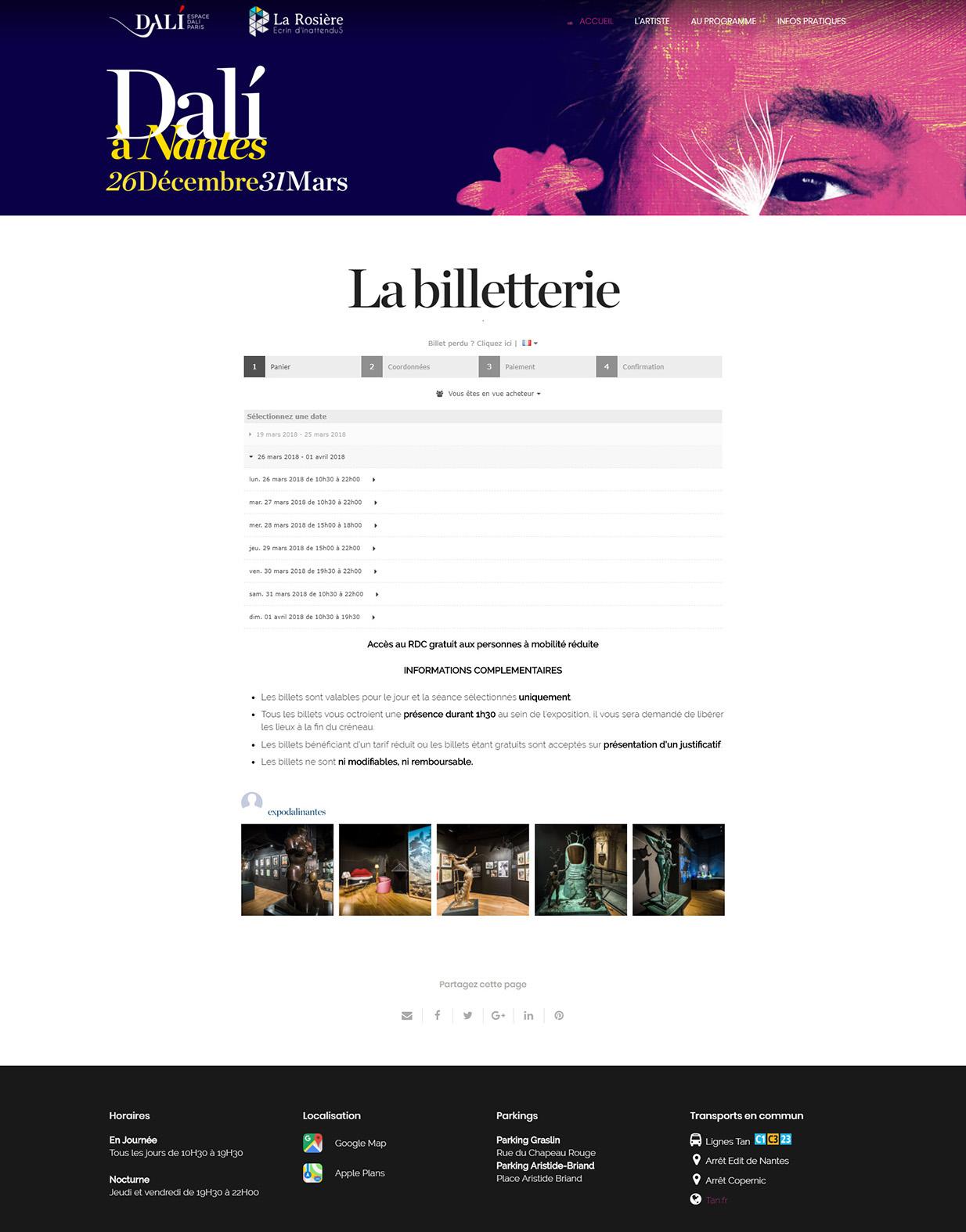 Billetterie en ligne la moins ch re de france billetweb - Site de vente pas chere ...