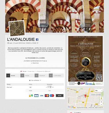 [Page Billetweb] L'andalousie
