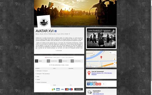 [Page Billetweb] Avatar XVI