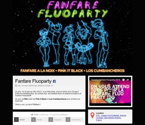 [Page Billetweb] Fanrare fluo party
